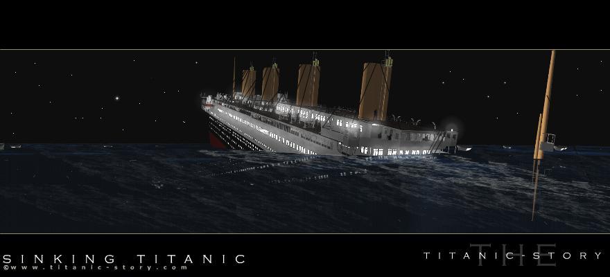 Titanic is sinking