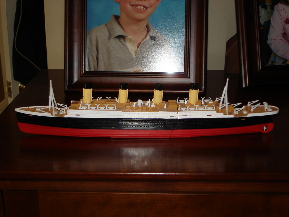 Matt's titanic model