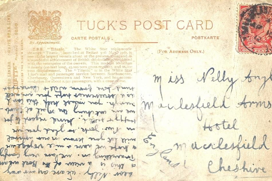 Onboard lettercard