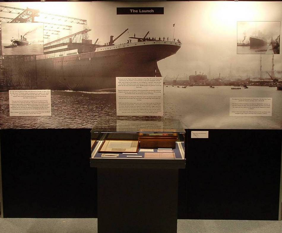 Titanic Launch Display