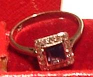 Helen Andrews Engagement Ring