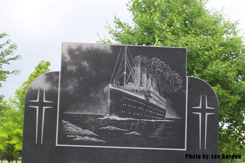 Titanic Headstone 3