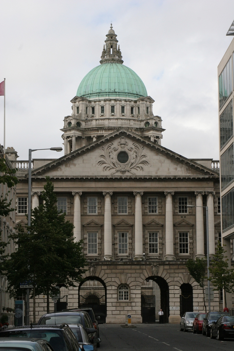City Hall from Linenhall St.