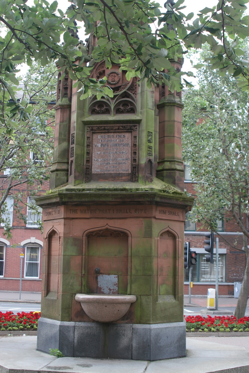 Thomas Thompson Memorial Fountain