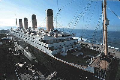 Titanic at baja studios