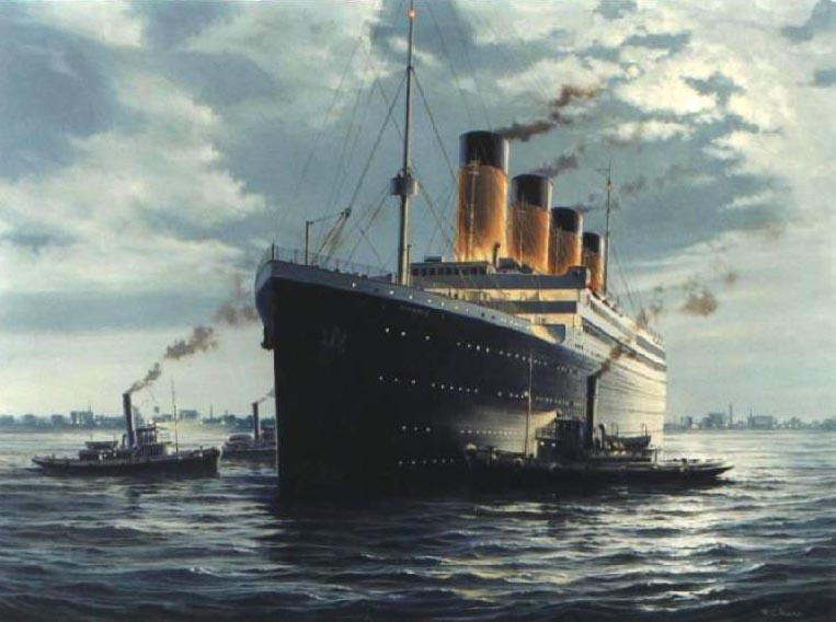 Titanic shipof dreams.