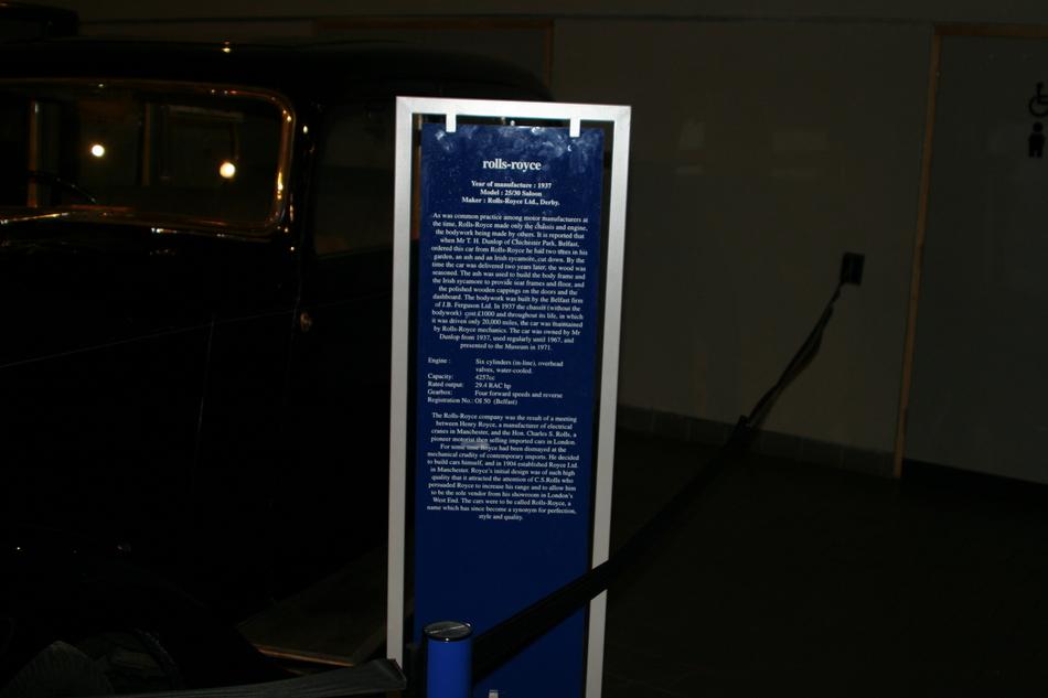 Ulster transport museum 1