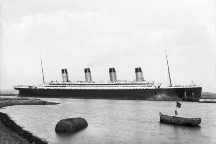 RMS Olympic Nearing Completion