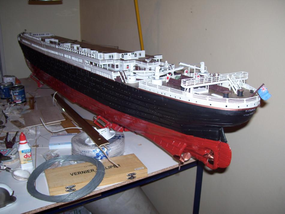 titanic model made in argentina