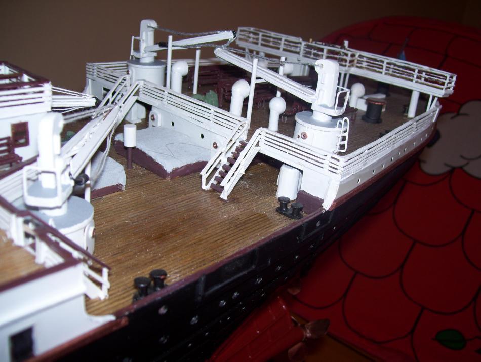 titanic model made in argentina