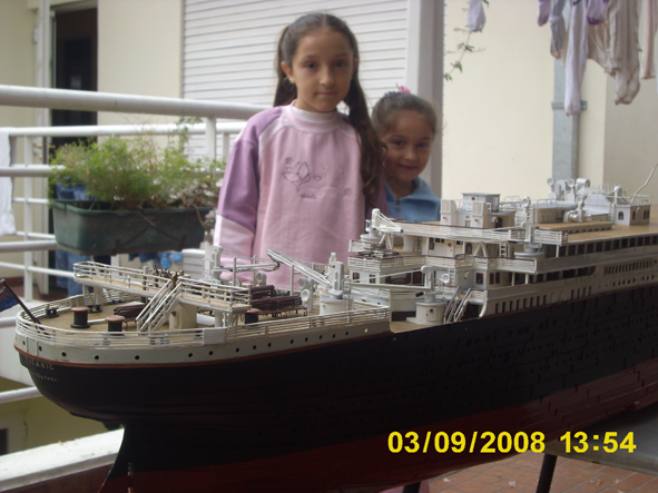 titanic model made in argentina new fhotos 2