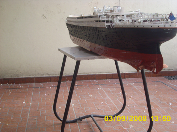 titanic model made in argentina new fhotos 3