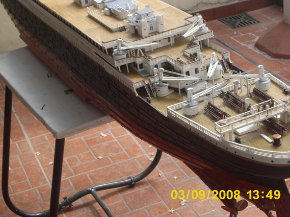 titanic model made in argentina new fhotos 4