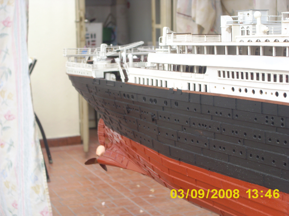 titanic model made in argentina new fhotos 5