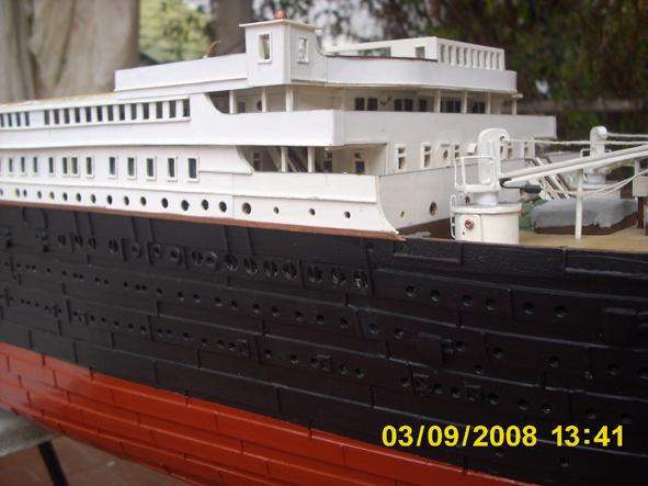 titanic model made in argentina new fhotos 6