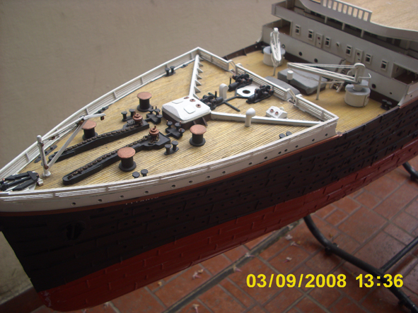 titanic model made in argentina new fhotos 8