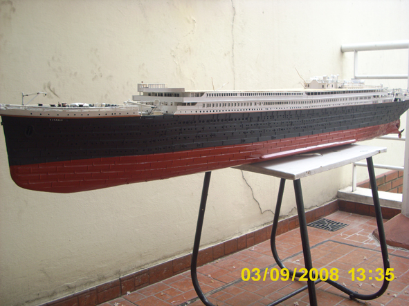 titanic model made in argentina new fhotos 9