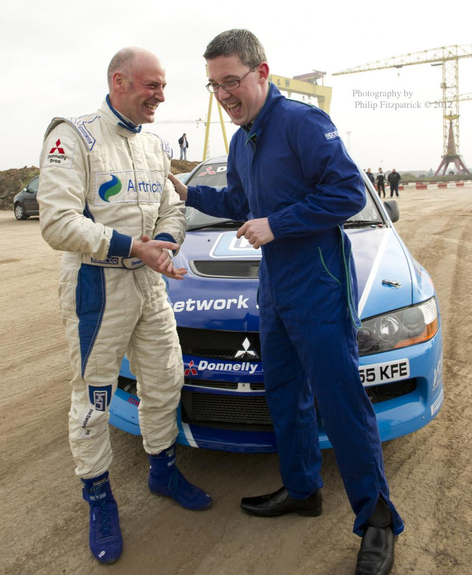 Belfast Lord Mayor Thrilled at Titanic pre-Rallying Experience