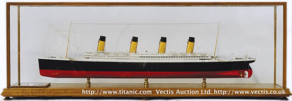 "1/16"" Titanic Model by Bassett-Lowke Northampton"