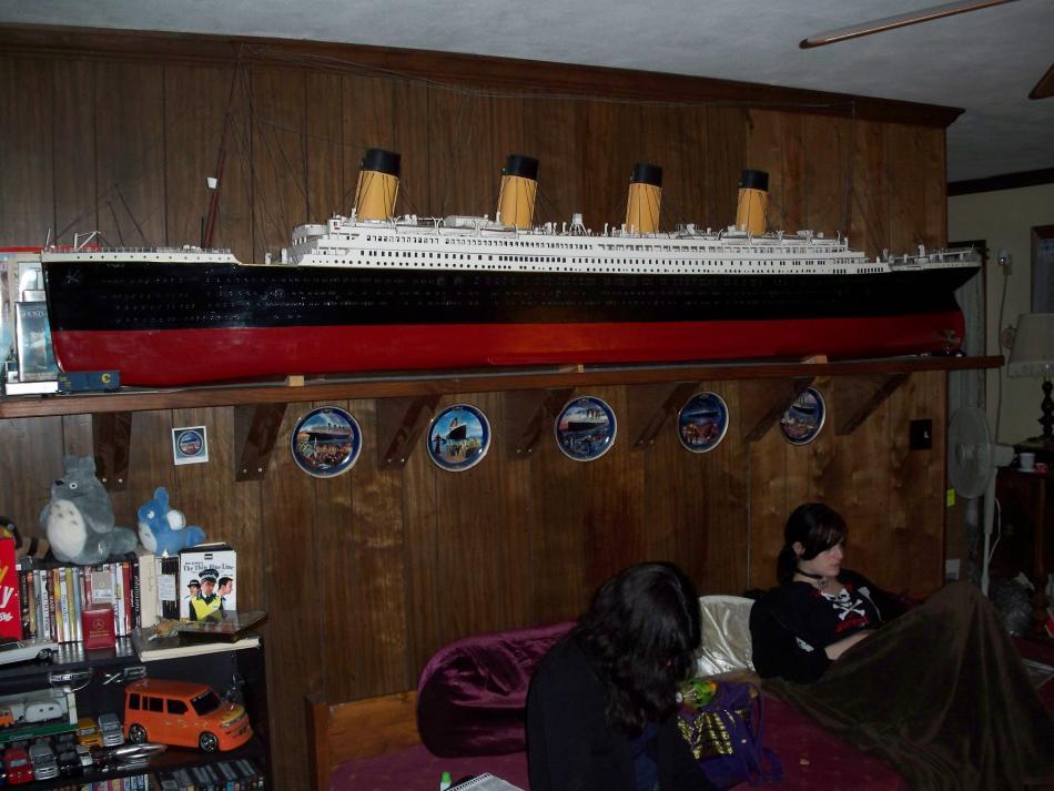 1:87 (HO Scale) TITANIC built 1985-89
