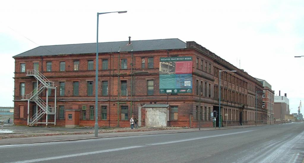 Harland & Wolff Office Building