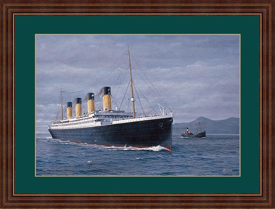 Post Card of Titanic