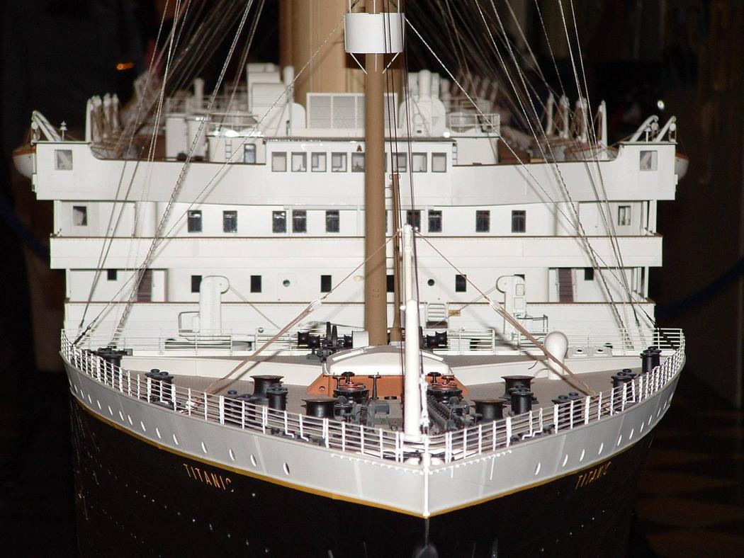 TITANIC 1/350 construction - Page 2 704