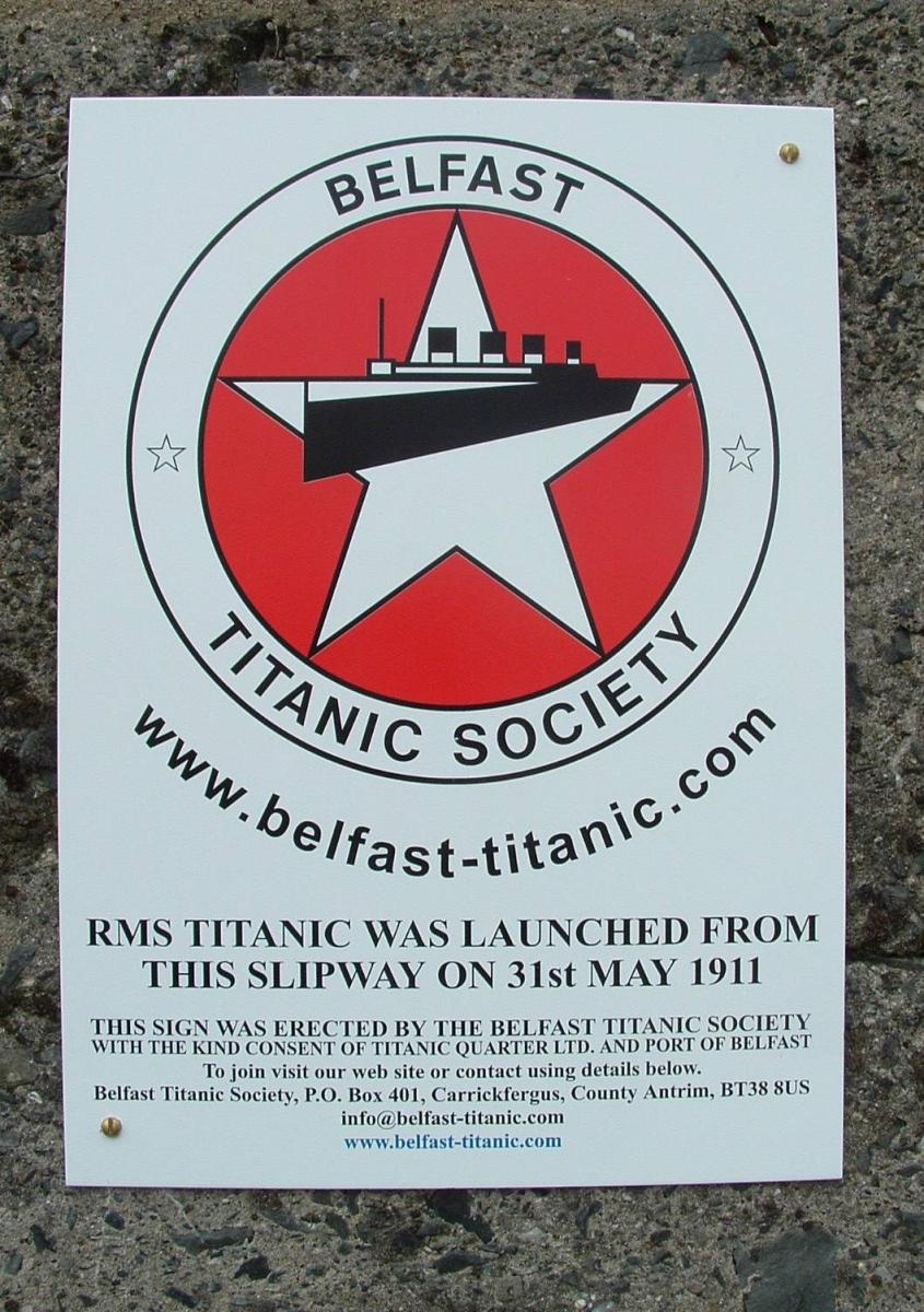 Titanic Was Built Here!
