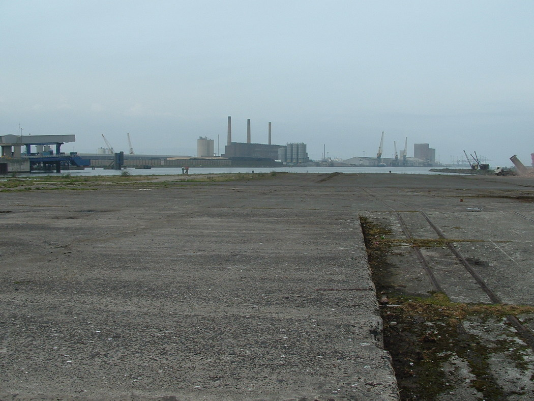 Another View Of Titanic's Slipway