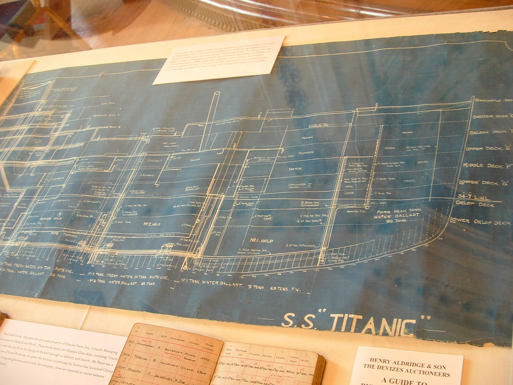 Titanic Blueprint