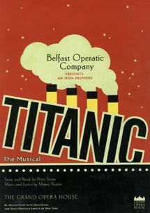 Titanic Musical Flyer