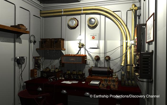 Titanic marconi room