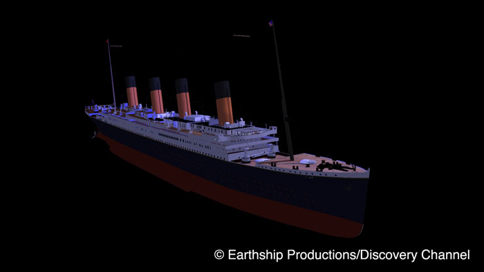 Titanic render clean